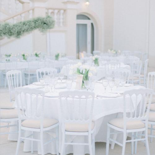 foto matrimonio allestimento tavoli