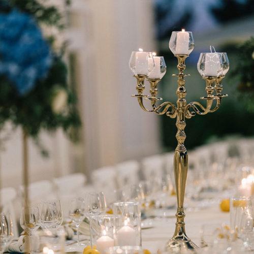 foto matrimonio candelabro