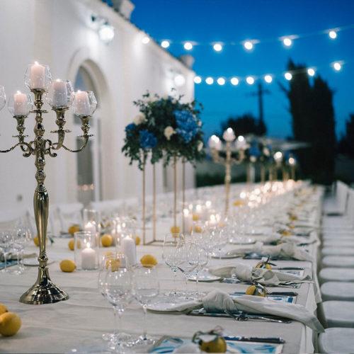 foto matrimonio candele