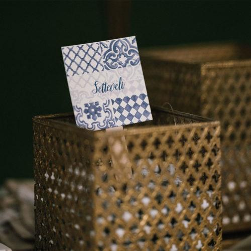 foto matrimonio tags confetti