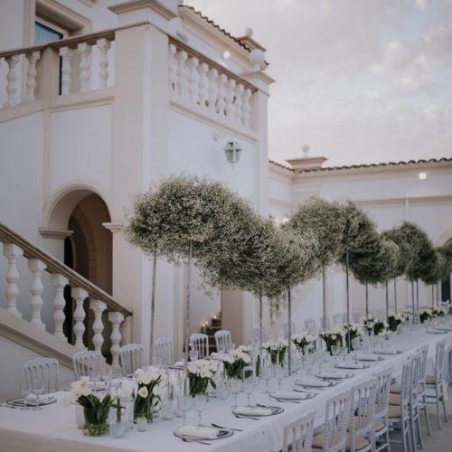 foto matrimonio tavolo imperiale