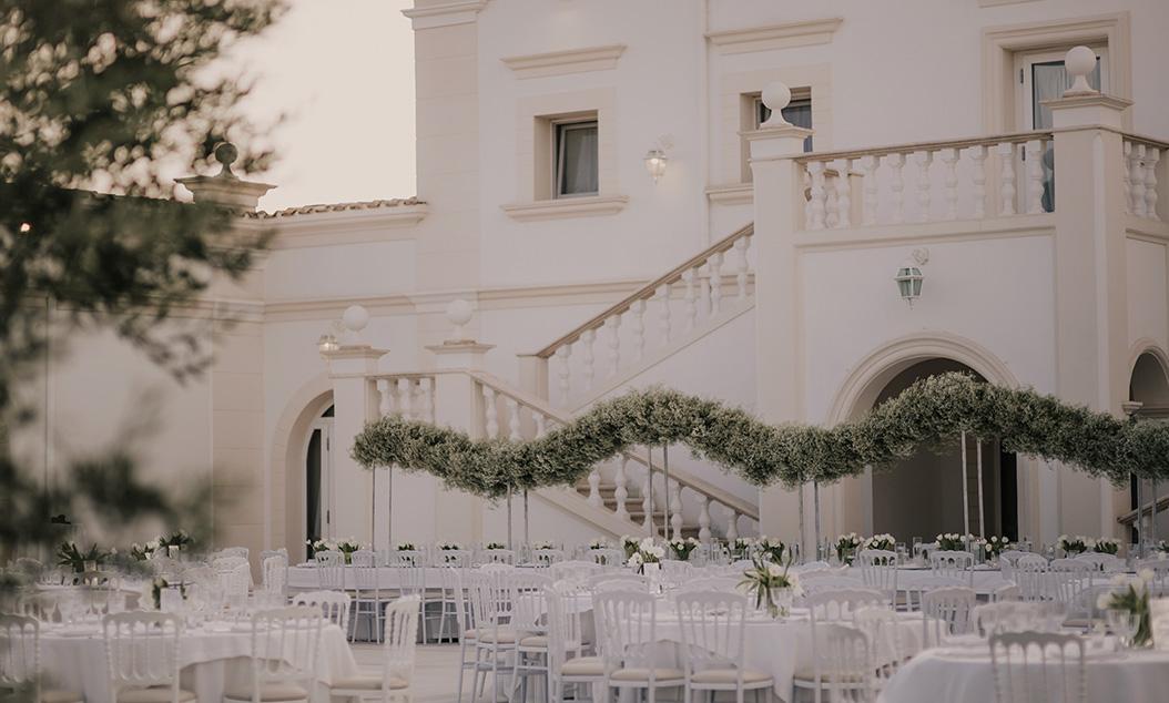 wedding coordinator allestimento raffinato