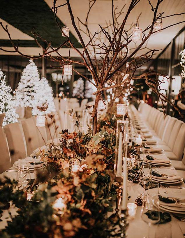 wedding designer allestimento natalizio