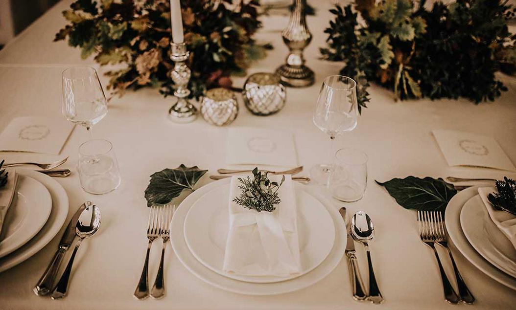 wedding designer mise en place