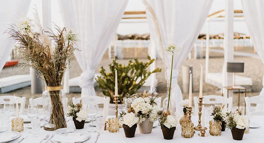 wedding planner allestimento bianco